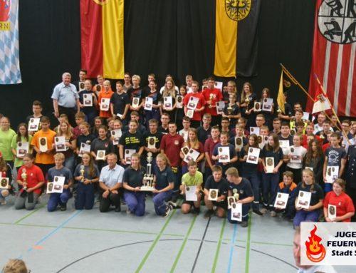 Kreisjugendfeuerwehrtag in Hilpoltstein
